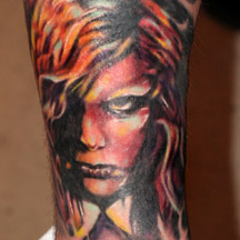 Mez Love Karen Cooper Tattoo